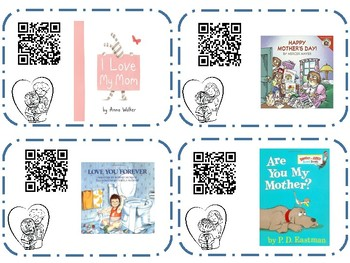 Mother's Day QR Read Alouds