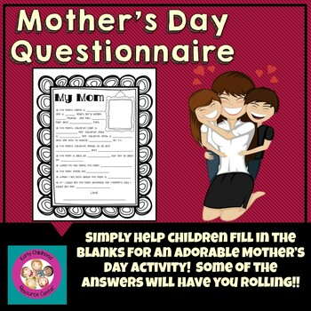 Mother's Day Questionnaire