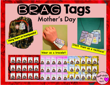 Mother's Day Brag Tags FREEBIE