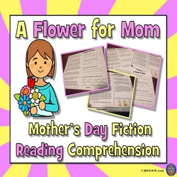 Mother's Day Reading Comprehension Passage and Questions + Fluency