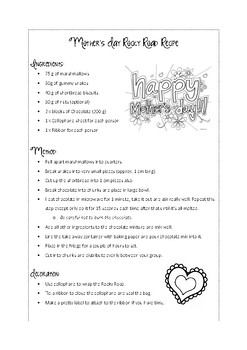 Mother's Day Rocky Road Recipe