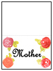 Mother's Day Roll a R.A.F.T writing prompt generator