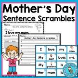 Mother's Day Sentence Scrambles