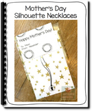 Mother's Day Silhouette Necklaces
