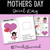 Mother's Day Social Story for Special Education