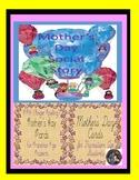 Mother's Day Social Story & ASL (Finger Spelling) Cards Bu