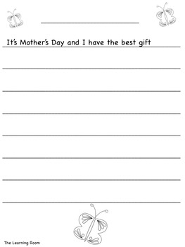 Mother's Day Story Starters! 40+ Pages!