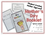 Mother's Day Student-Created Book for Moms, Grandmas, Aunt