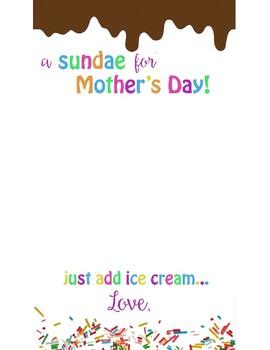 Mother's Day Sundae