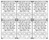 Mother's Day Sunflower Note Printable