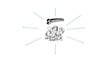 Mother's Day- Supermom (In English/Spanish)