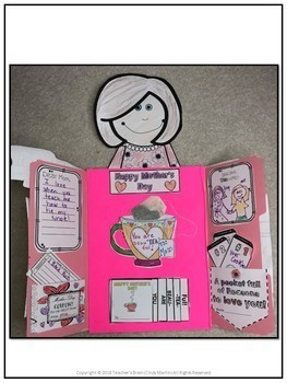 Mother's Day Tea Crafts LAP BOOK