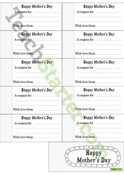 Mother's Day Teaching Resource Pack