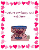 Mother's Day Teacup Card with Poem