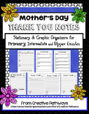 Mother's Day Writing Activity, Mother's Day Thank You Notes