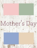 Mother's Day Toddler Theme