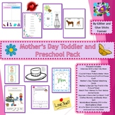 Mother's Day Toddler and Preschool Pack