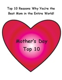 Mother's Day Top 10 & Art Activity