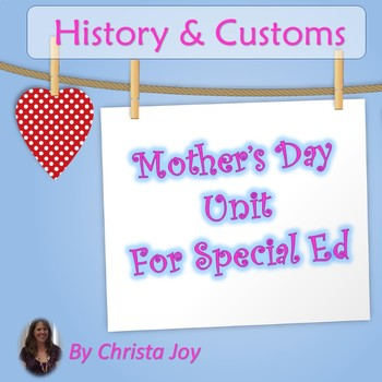 Mother's Day Unit for Special Education