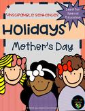 Mother's Day- Unscramble the Sentences