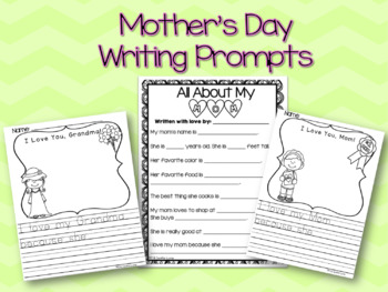 Mother's Day Writing Prompts