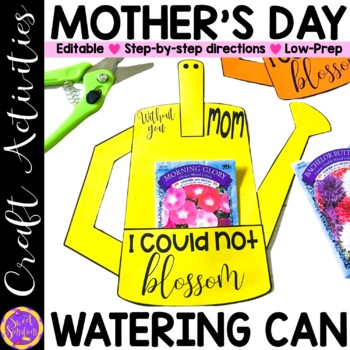 Mother's Day Watering Can Craft