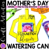 Mothers Day Craft Watering Can Flower Seeds   Mother's Day