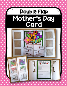 Mother's Day Window Flowers Card