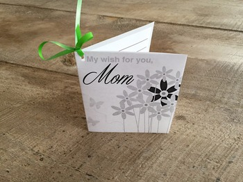 Mother's Day Wish Card/Balloon Release