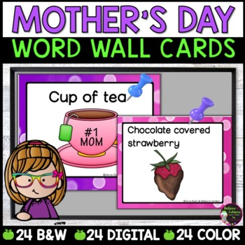 Mother's Day Word Wall Cards