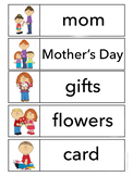 Mother's Day Word Wall Words