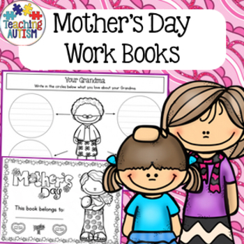 Mother's Day Work Book