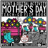 Mother's Day Writing Activity BONUS Grandma & Aunt Mother's Day Craft Flip Book