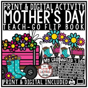 Mother's Day Writing • Mother's Day Flip Book