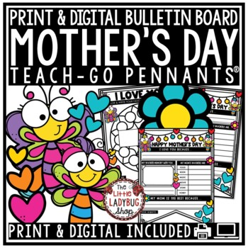 Mother's Day Writing Activity Poster [Mothers Day Coupon Book & Pennant Posters]