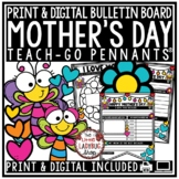 Digital Mother's Day Writing Activities Bulletin Board, Mom Gift Coupon Book