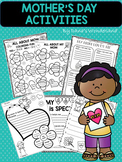 Mother's Day Writing Activities for 1st Grade | Mother's Day Activity FUN Pack