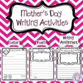 Mother's Day Writing Activities