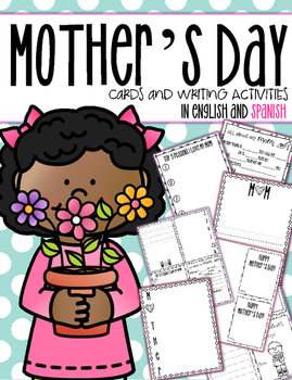 Mother's Day Writing Activities and Cards