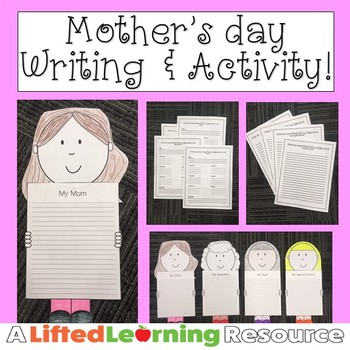 Mother's Day Writing & Activity!