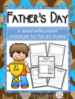 Father's Day Writing Activity