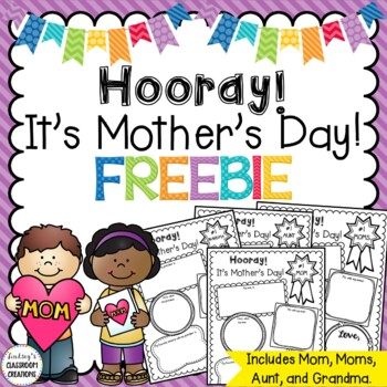 Mother S Day Writing Activity Freebie For Mom Grandma And Aunt