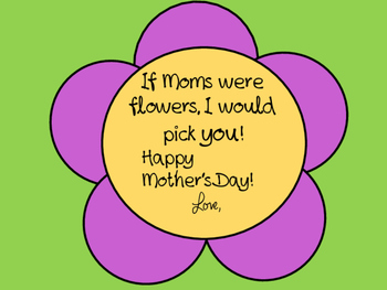 Mother's Day Writing - An Adorable Flipbook
