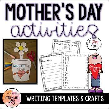 Mother's Day Writing Center & Craft