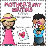 Mother's Day Writing - Kid Made!