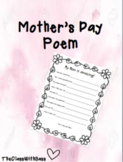 Mother's Day Writing Page