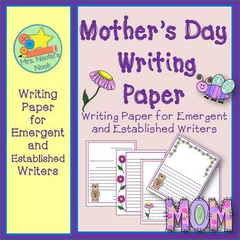 Writing Paper Mother's Day