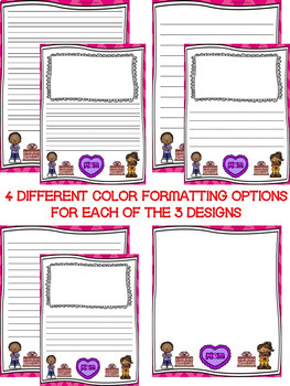Mother's Day Writing Paper--Mother's Day Writing Stationary--DIFFERENTIATED