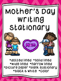 Mother's Day Writing Paper--Mother's Day Writing Stationar