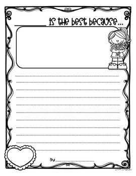Mother's Day Writing Paper Printable